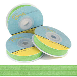 Spring Green Fold Over Elastic