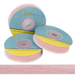 Blush Fold Over Elastic