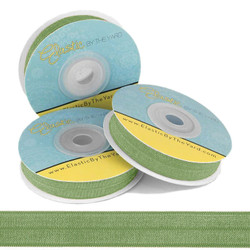 Moss Green Fold Over Elastic