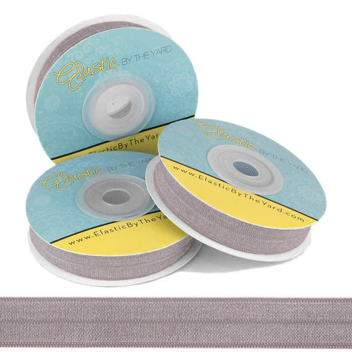 Medium Gray Fold Over Elastic
