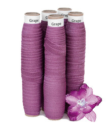 Grape Fold Over Elastic - 5 Yards