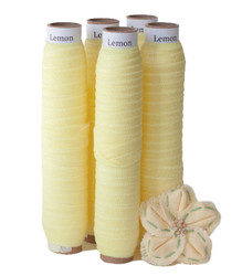Lemon Fold Over Elastic
