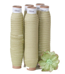 Olive Fold Over Elastic