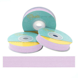 Pastel Lilac Fold Over Elastic