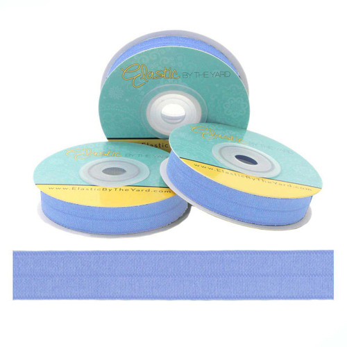 Sleepy Blue Fold Over Elastic