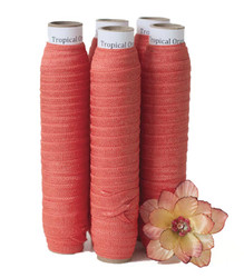 Tropical Orange Fold Over Elastic