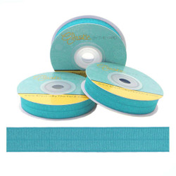 Teal Fold Over Elastic