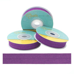 Royal Purple Fold Over Elastic