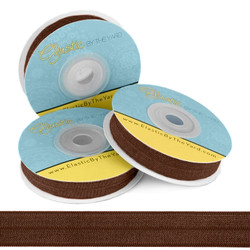 Dark Brown Fold Over Elastic