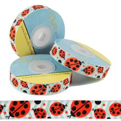 Ladybugs Print Fold Over Elastic