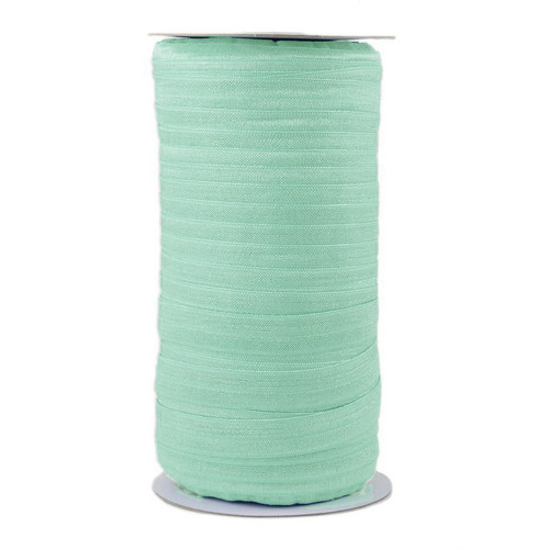 Aqua Wholesale Fold Over Elastic 100yd