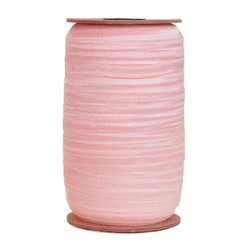 Ballet Pink Wholesale Fold Over Elastic 100yd