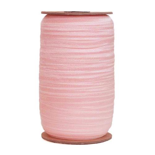 Ballet Pink Wholesale Fold Over Elastic 100yd