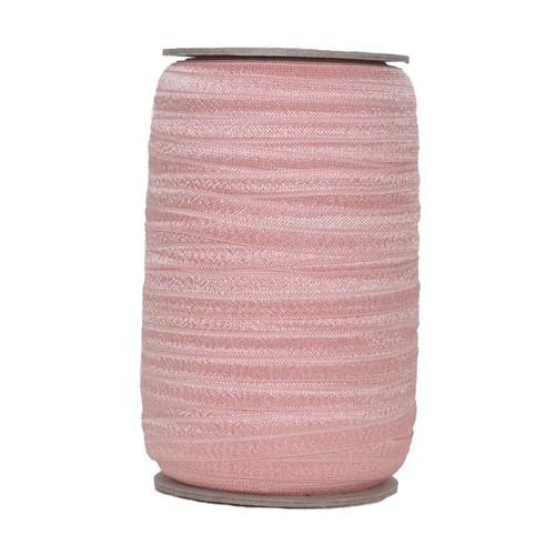 Blush Wholesale Fold Over Elastic 100yd