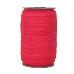 Hot Red Wholesale Fold Over Elastic 100yd
