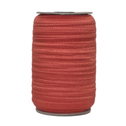 Burnt Orange Wholesale Fold Over Elastic 100yd
