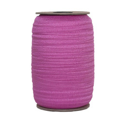 China Pink Wholesale Fold Over Elastic 100yd