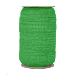 Kelly Green Wholesale Fold Over Elastic 100yd