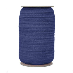 Navy Wholesale Fold Over Elastic 100yd