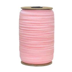 Pink Daisy Wholesale Fold Over Elastic 100yd
