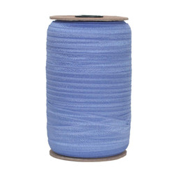 Sleepy Blue Wholesale Fold Over Elastic 100yd