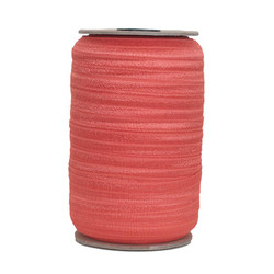 Tropical Orange Wholesale Fold Over Elastic 100yd