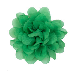 Allison Kelly Green Chiffon Flower