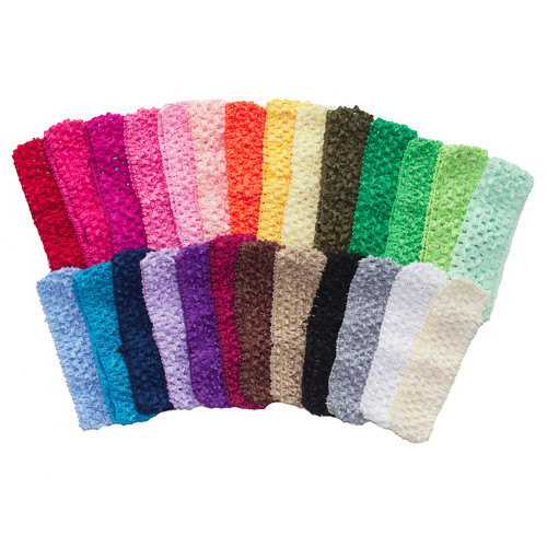 "1.5"" Small Crochet Headbands - 26 Colors"