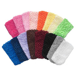 "2.75"" Medium Crochet Headbands"