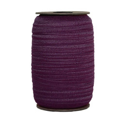 Deep Plum Wholesale Fold Over Elastic 100yd
