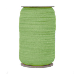 Lime Wholesale Fold Over Elastic 100yd