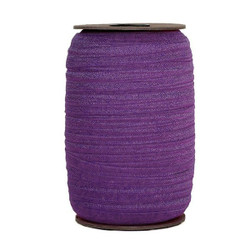 Royal Purple Wholesale Fold Over Elastic 100yd