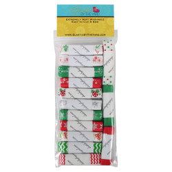 Mega Christmas 14yd Multi Pack Fold Over Elastic