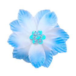 Amanda Blue Silk Flower