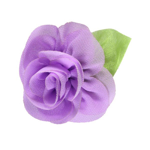 "2.25"" Blossom Flower with Leaf Lilac"