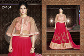 Exquisite & Timeless Pink Colored Net Lehenga
