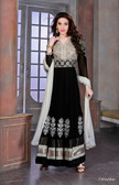 Modern Diva Black color Georgette Anarkali Suit