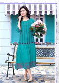 Stylishly Fashionable Sky Blue Colored Rayon Designer Readynmade Kurti
