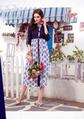 Colorful & Lovely Multi Colored Cotton Printed Readymade Kurti