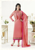 Elegant & Catchy Light Pink Color Georgette Suit