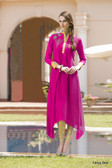Beautiful & Elegant Designer Pink Color Georgette Kurti