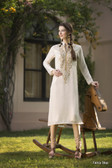 Beautiful & Elegant Off White Color Georgette Kurti