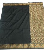 Simple & Elegant Black Color Light Weight Banarasi Saree