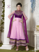 Premium Salwar With Zari Work and Embroidery Designer Work Pink and Magenta