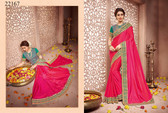 Gorgeous & Classy Pink Colored Silk Saree
