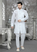 Stylish Off White Off White Cotton Cotton Kurta Pyajama D1021511969