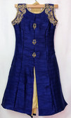 Stylish Designer  Blue Color Silk  Suit 200617908