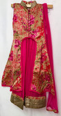 Stylish Premium Hot Pink Color Net Georgette  Lehenga 200617956