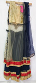 Stylish Premium Royal Blue Color Net Georgette Lehenga