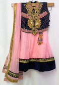 Stylish Premium Baby Pink Color Net Georgette  Lehenga 200617964